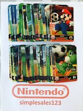 NEW Mario Sports Superstars Amiibo Cards - Pick Your Own  Nintendo 3DS Switch