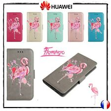 Etui Coque housse Flamingo PU Leather Cover Wallet Case Huawei P10, P8 Lite 2017