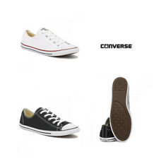 Converse Womens Chuck Taylor Dainty Black / White Trainers