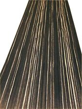 High Quality Zebrano Negro Veneer / Flexible Wood Veneer Sheet