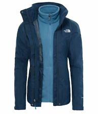 North Face Womens Evolution Ink Blue Triclimate Small, Large and XL
