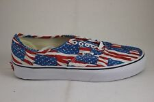 Vans Authentic Free Flag Red/True White VN0004MKIE7 Brand New