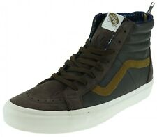 Vans SK8HI ZIP CA California Collection croc leather wild dove