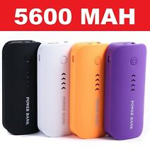 External 5600 mAh USB Power Bank Portable Pack Battery Charger For Mobile Phones