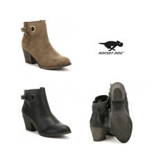 Rocket Dog Womens Brown / Black Dove Heirloom Sacoma Boots Size 3 - 8