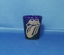 Rolling Stones Tongue 1.5 oz. Sandblasted Etched Shot Glass