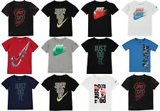 New Nike 2018 Infant Boys Nike T Shirt Swoosh -Top Size Age 2-7 SALE FROM £8.99