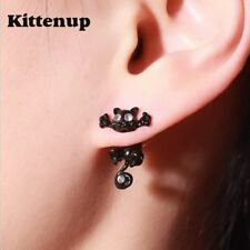 Kittenup New Fashion Cat earring cute  Black Kitten Jewelry Piercing Ear Stud Ea