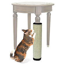 mascota gatos rascador Alfombrilla Plataforma bordo Sisal POST Juguete Natural