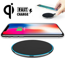 Standard Qi Wireless Charger Charging Pad Mat for Apple iPhone X 8 Samsung Note8