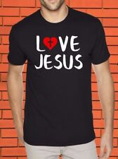 Love Jesus Religious Inspirational Christian Gifts God Christ Holy Bible T Shirt