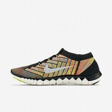 NEW Nike Free Flyknit 3.0 Mens Running Shoes 11.5 12 Black Multicolor 71841