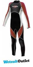 G-force Full 3/2mm JUNIOR Wetsuit GF1304 in RED