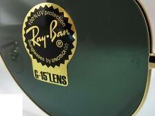 2 replacement lenses temperated glass genuine Ray Ban Aviator 3025 UK RayBan
