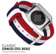 Sport Nylon Strap For Apple Watch serie 1/2 Band 38/42mm Adjustable