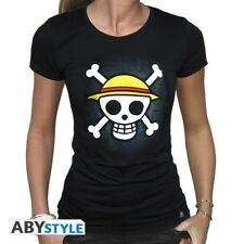 PROMO - 15% ONE PIECE T-shirt femme Skull with map NEUF