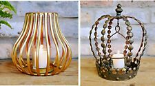 Vintage Style Tea Light Holders Lantern Candle Porch Light Home Garden Decor NEW