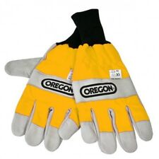 BRAND NEW OREGON DOUBLE HAND PROTECTION CHAINSAW GLOVES SIZE S-XL
