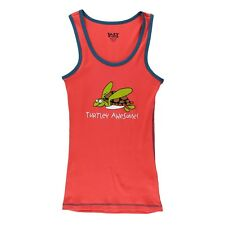 LazyOne Unisex Erwachsenen Turtley Awesome Pyjama Tank Top