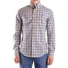 z562 RALPH LAUREN CAMICIA MULTICOLOR COTONE UOMO MEN'S COTTON SHIRT