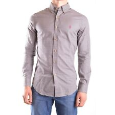 z567 RALPH LAUREN CAMICIA MULTICOLOR COTONE UOMO MEN'S COTTON SHIRT