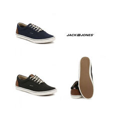 Jack & Jones Mens Navy / Anthracite JFWVision Mixed Trainers Size 6 - 8