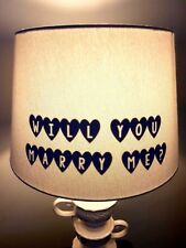 HIDDEN MESSAGE | DISPLAYS WHEN LAMP TURNED ON | ANNOUNCEMENT | VINYL DECAL