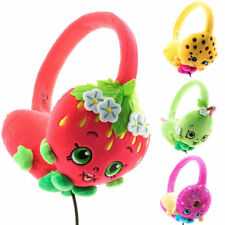 Shopkins Donut Pink, Yellow, Apple green or Strawberry Kiss RED headphones