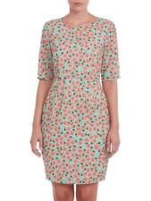 Sugarhill Boutique Pear Print Shift Dress XS-XL 8-16 Green Fruit Design Flatters