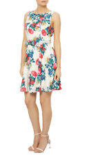 Darling Gabrielle Flared Floral Dress UK 10-16 RRP�55 Occasion Wedding Belted