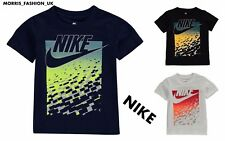 New Infant Boys  Nike Just Do IT Gradient  Swoosh -T Shirt Top Size Age 3-7 Sale