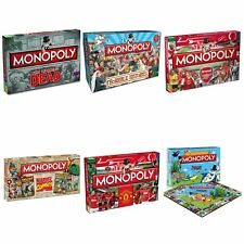 Monopoly:Liverpool Aresenal Horrible Histories, Walking Dead Monopoly Board Game