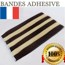 7A EXTENSION TAPE BANDE ADHESIVE CHEVEUX 100% NATURELS INDIAN REMY HAIR