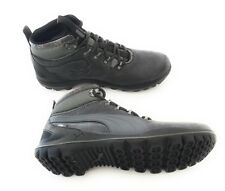 New PUMA Silicis Mid Men's Sneakers black-dark shadow forest free shipping