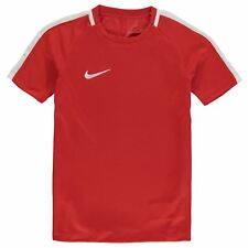 New Junior Boys Nike Lightweight DriFit  Football Training Top Size Age 7-13