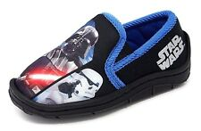 Boys Star Wars LUNTLEY Slipper Darth Vader CP30 Storm Trooper size 7 to 2
