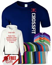 Gym Crossfit Training T shirt Functional Sport Workout Strength Free Gift Hoodie