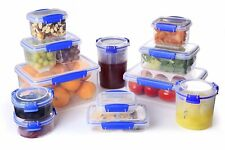 Sistema CLIP IT Sturdy Clear Plastic Food Grade Storage Container W/ Lid & Clips