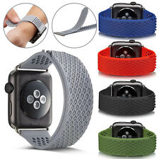 Replacement Watch Band Strap Wrist Bracelet Silicone For Appe iWatch 38mm 42mm