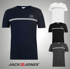 Mens Branded Jack And Jones Short Sleeves Core Jan T Shirt Top Size S M L XL