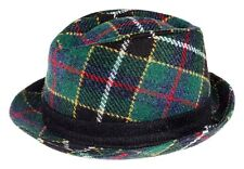 Cappello Unisex Trilby Harris Tweed Tartan