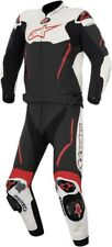ALPINESTARS Atem 2-Piece Leather Motorcycle Suit (Black/White/Red) Choose Size