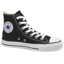 Converse Chuck Taylor Hi Black White Mens Womens Canvas Shoes Sneakers Sizes