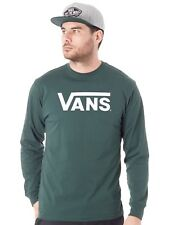 Vans Scarab-White Classic Long Sleeved T-Shirt