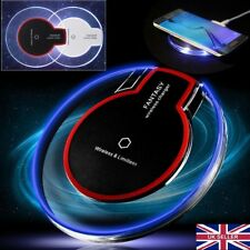 Fast Qi Wireless Charger Charging Pad for iPhone 8 X Samsung Galaxy S8 S9 Note