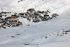 Val Thorens Three Valleys ski area Alps France photograph picture poster print