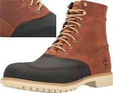 "Timberland Men's Stormduck Waterproof Leather 6"" inch Duck Boots Shoes A17X"