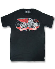 Hotrod Hellcat Herren MC T-Shirts.Biker,Tattoo,Custom,Oldschool,Rockabilly Style