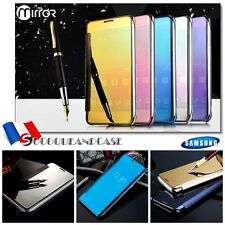 Etui housse coque Miroir View Plated Mirror Case Cover gamme Samsung Galaxy (All