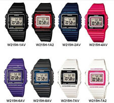 Casio W215H Sports Unisex Classic Digital Wrist Watch With Alarm And Date. VDIY